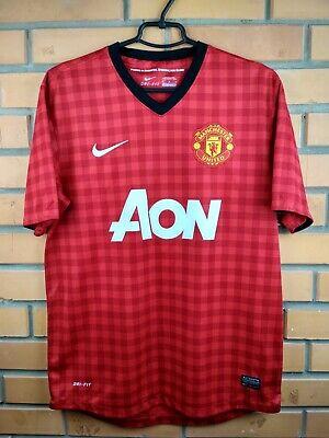 eb5065267 9.5 10 Manchester United jersey medium 2012 2013 shirt 479278-623 shirt Nike