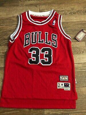 Chicago Bulls Scottie Pippen Hardwood Classics NBA NWT YM Fast Free S/H=