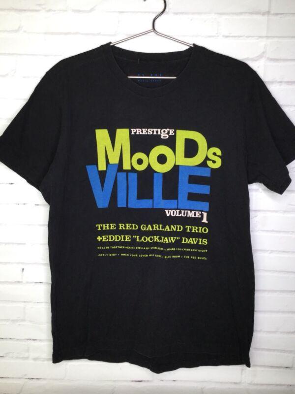 Prestige Moodsville Vol 1 Red Garland Trio Eddie Lockjaw Davis Black Shirt Sz M