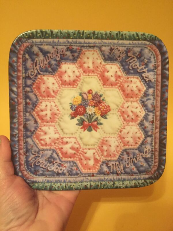 """The Bradford Exchange """"Always My Mother"""" Collector Plate By Mary Ann Lasher"""
