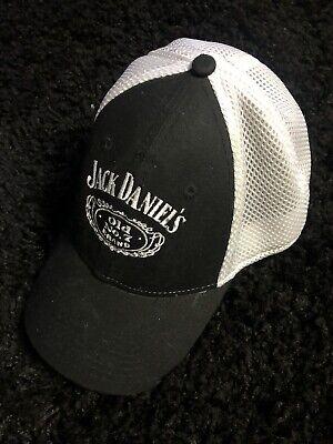 Jack daniels Black And White New Era hat Size Medium Large