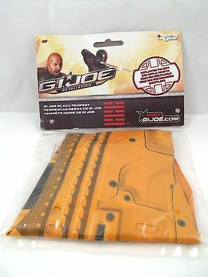 G.I. Joe Retaliation Black Tempest Inflatable Kids Gun Toy Child Costume Hasbro - I Simpson Halloween