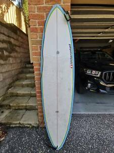 "7'0"" Epoxy Mini-Mal Surfboard"