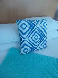 Throw Living Room & Accent Cushion Cover Turquoise & Blue Surfers Paradise Gold Coast City Preview