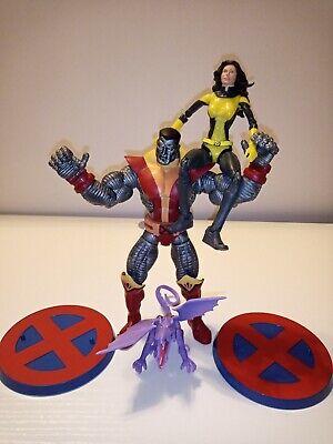 ToyBiz Marvel Legends Series 5 Uncanny X-Men Colossus w/ Kitty pryde & Lockheed