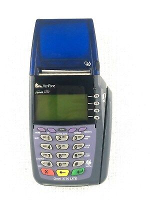 Verifone Omni 3730 5100 Credit Card Terminal With Power Supply