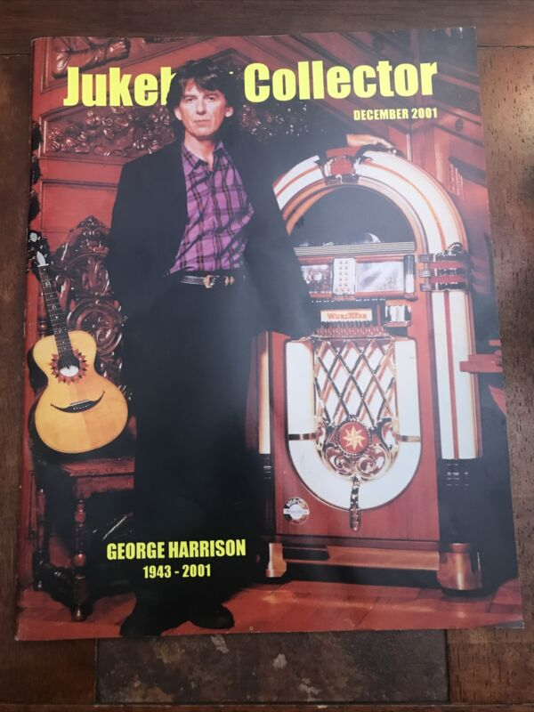 JUKEBOX COLLECTOR MAGAZINE December 2001 George Harrison The Beatles Wurlitzer