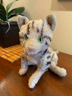 Vintage Steiff Fully Jointed Tabby Cat