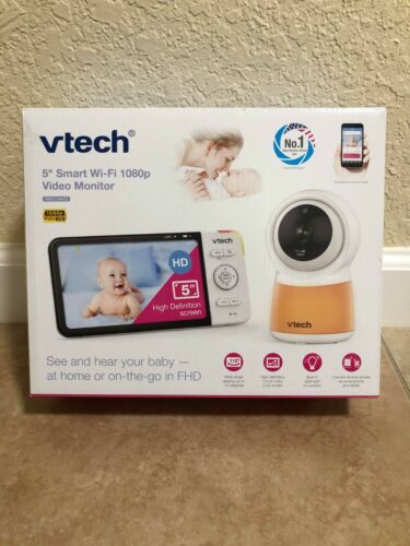 "VTech RM5754HD 5"" Smart Wi-Fi Full HD Baby Monitor - READY TO SHIP - BRAND NEW"