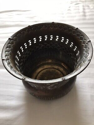 Vintage Planter / Plant Pot Brass / Copper