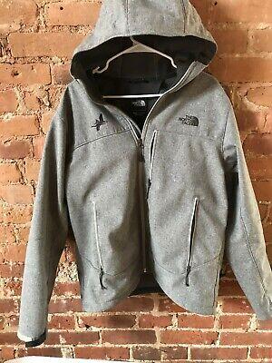 North Face Men's Jacket Grey Large w/Hood