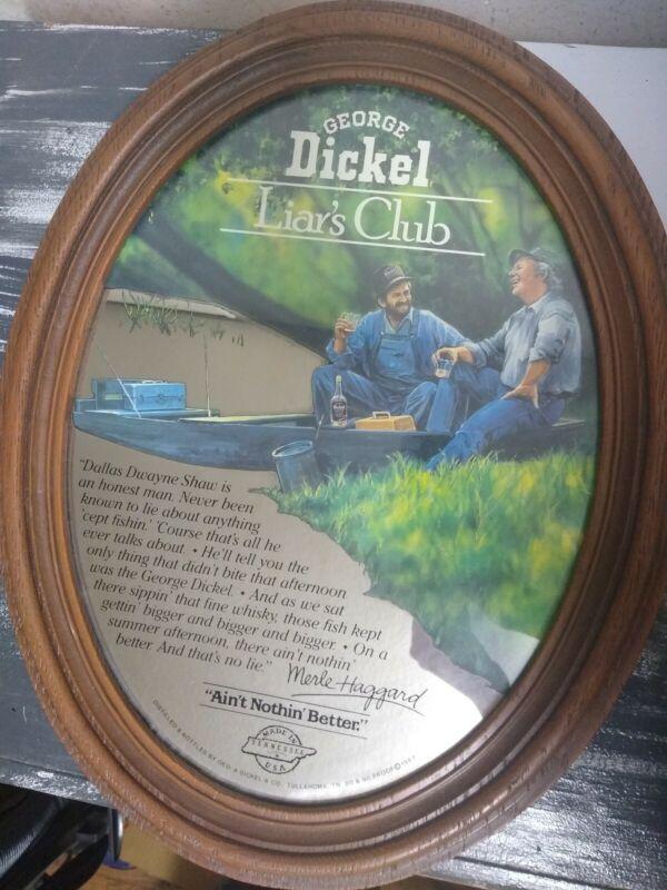 Vintage George Dickel Liar
