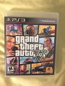 Grand Theft Auto Auto V (Five) for PlayStation3
