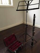 Yamaha Clarinet and music stand Balgowlah Heights Manly Area Preview