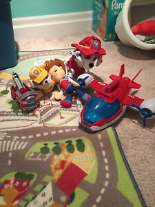 Paw Patrol package of toys