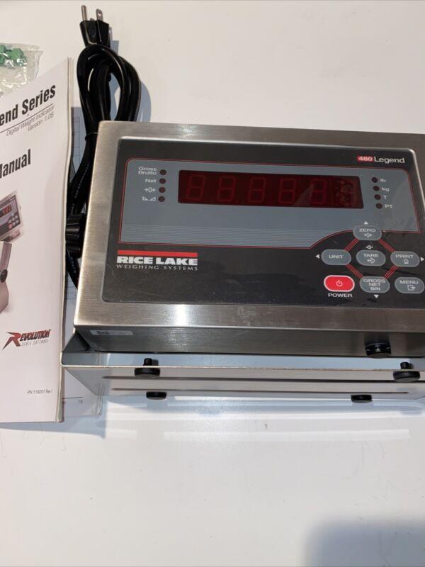 RICE LAKE 480 LEGEND Scale Indicator