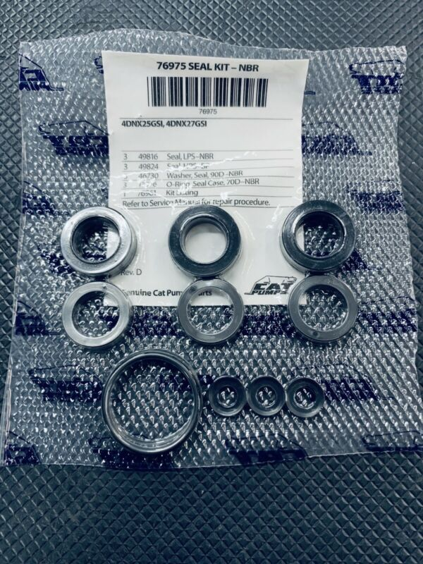 76975 WATER PACKING SEAL KIT FOR CAT PUMP 4DNX SERIES PRESSURE WASHER  PUMP