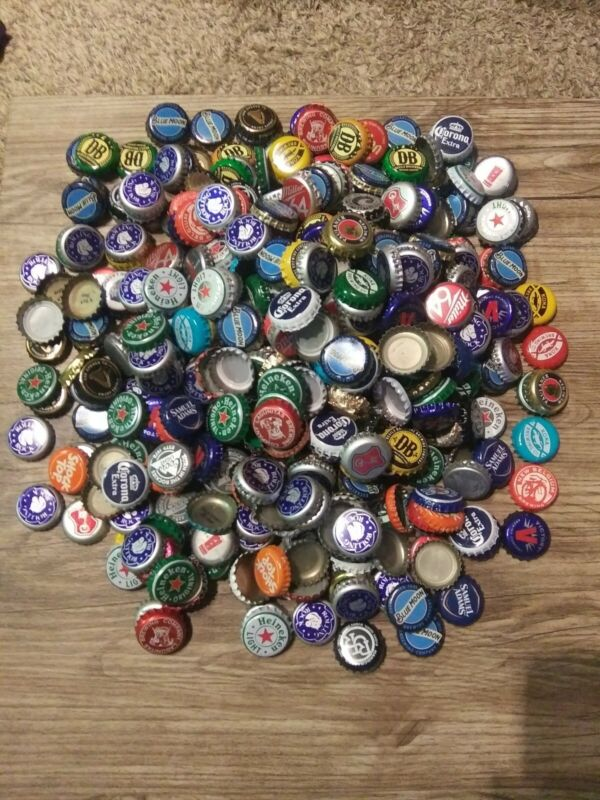 Approximately 500 Beer Caps Bottle And BONUS