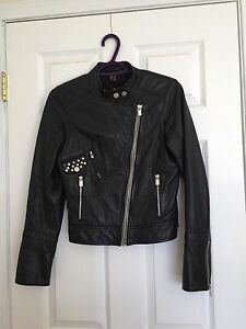 Danier Leather Jacket size 3XS
