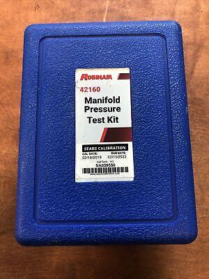 Robinair Manifold Pressure Test Kit 42160 In Original Case Gently Used