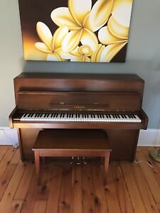 Yamaha Piano with American Walnut stain