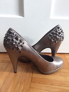 Studded Heels