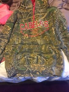 Cabelas,Roots,Realtree and columbia