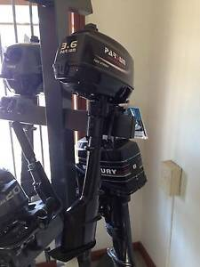 Parsun 3.6 hp long shaft 2 stroke outboard Golden Square Bendigo City Preview