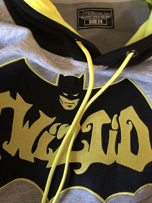 Brand New * Twiztid * Batman * Hoodie / Jersey Style  * MNE / ICP