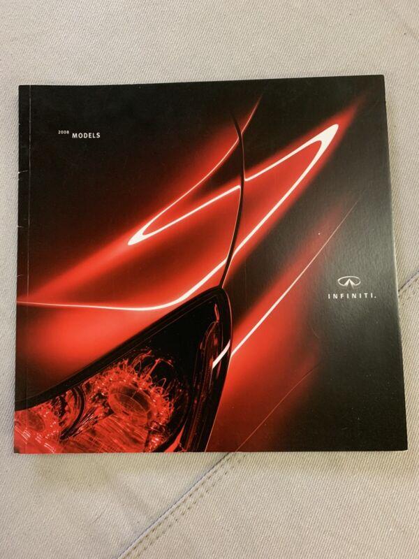 2008 Infiniti Full line Brochure
