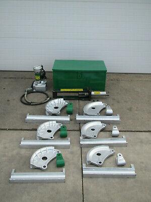 Greenlee 882-cb Flip Top Hydraulic Pipe Bender 1-14- 2 Rigid Imc Emt W 915