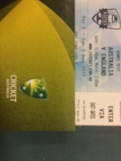 10 x Ashes tickets in Adelaide