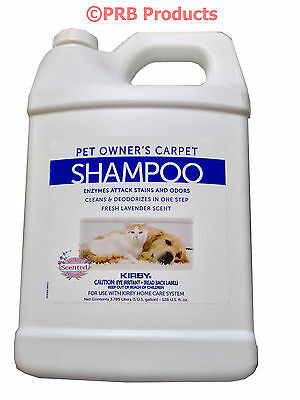 Carpet Shampoo (Kirby Vacuum Cleaner Pet Owners Carpet Rug Shampoo Genuine Allergen Stains Odors )