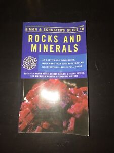 Rocks and Minerals (Simon & Schuster's Guide To)