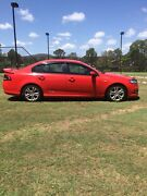 2009 Ford FG XR6 Red 6speed Sports Auto Yatala Gold Coast North Preview