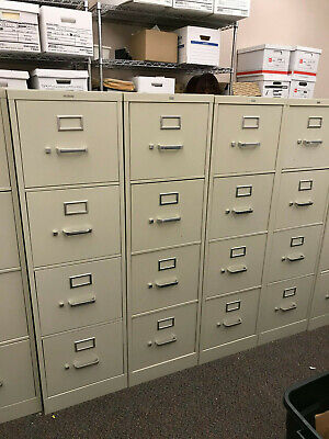 Hon 4 Drawer Vertical File Cabinet - Putty Color Local Pickup Only Waukegan Il