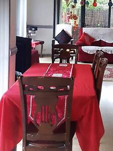 Beautiful dining table with five chairs Westmead Parramatta Area Preview