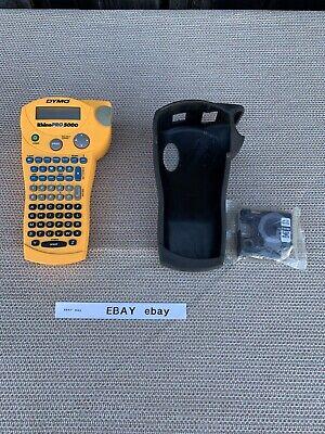 Dymo Rhinopro 5000 Handheld Portable Label Maker Printer Tape