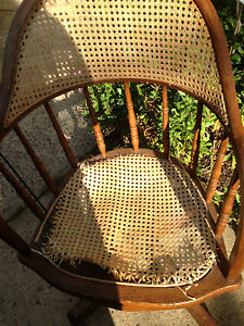Office Chair Arm Chair Antique Vintage Swivel FOR RESTORATION