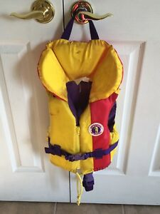 Child life jacket with whistle