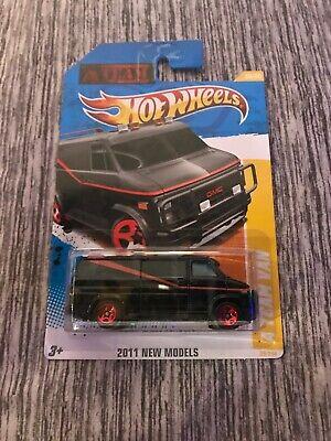 Hot Wheels 2011 New Models A Team Van BRAND NEW