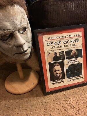 Michael Myers Halloween Movie News Print