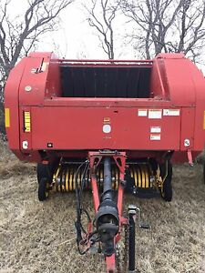 Newholland hard core baler