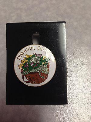 """""""Dresden, Ohio"""" Pin showing Longaberger Basket"""