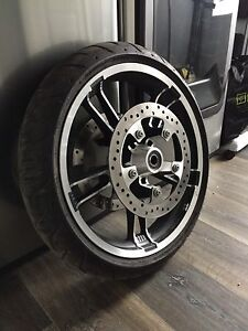 Enforcer front wheel