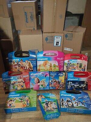 Playmobil Carry Cases, Packs, Boxes X 10 New Clearance Bargain SRP £120ish set 7
