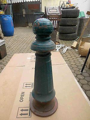 Antike Guss Säule Boller Guss H 67 cm RAR