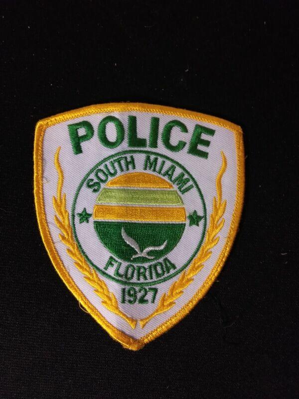Vintage Florida South Miami Police Patch