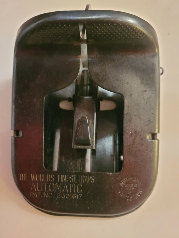 Vintage Automatic Trap Company Rat/mouse Trap Webster City Iowa