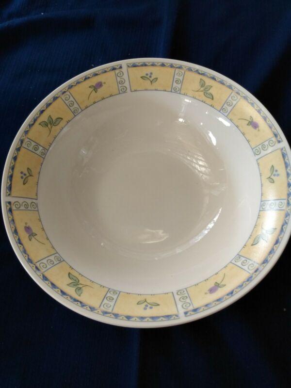 """Sango Papillon 8838 Round Serving Bowl 9x3"""" EUC"""